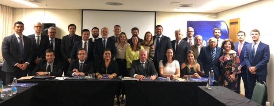 Aproesc participa da Reunião do Conselho Deliberativo  da Anape em Porto Alegre