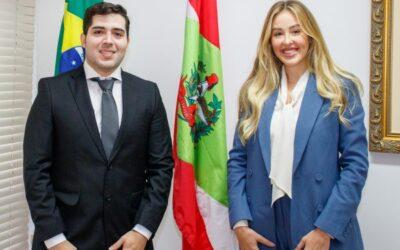 Aproesc dá as boas-vindas aos dois novos Procuradores de Estado de Santa Catarina