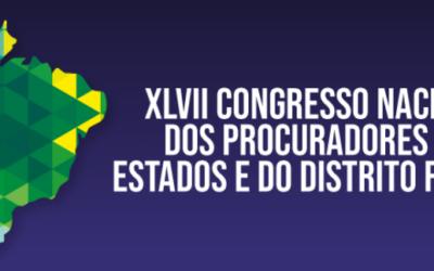 Aproesc garante participação de dez associados no XLVII Congresso Nacional dos Procuradores dos Estados e do Distrito Federal